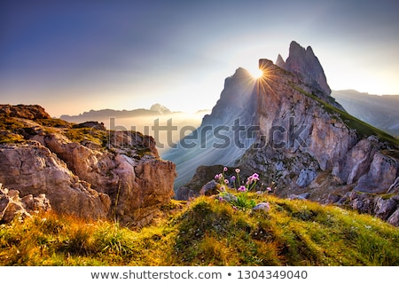 Stock photo: Hiking in Dolomite