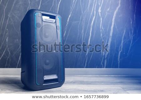 Wireless loudspeaker on white Stock photo © magraphics