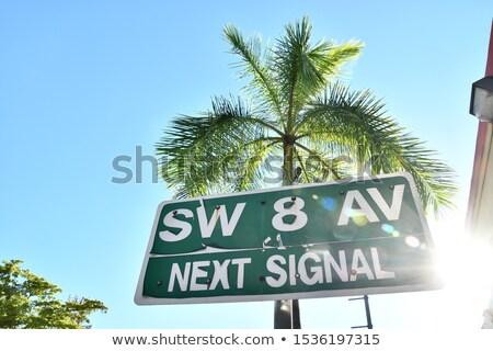 Майами шоссе знак высокий разрешение графических облаке Сток-фото © kbuntu