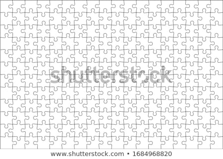 Jigsaw Puzzle Templates Stock photo © artybloke
