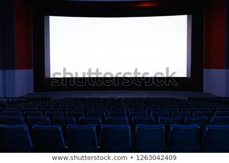 Stok fotoğraf: Empty Hall Of Cinema