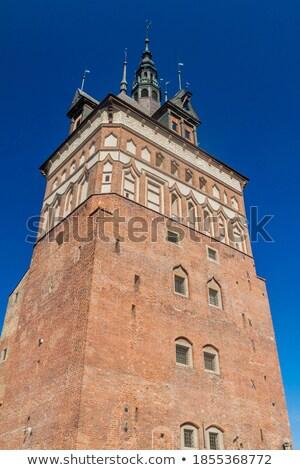 Hapis kule işkence ev gdansk ortaçağ Stok fotoğraf © rognar