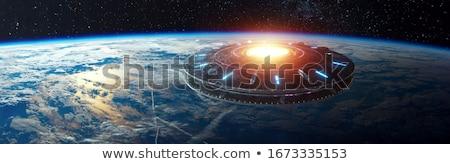 űrhajó galaxisok csillagok tudomány jövő fantázia Stock fotó © njaj