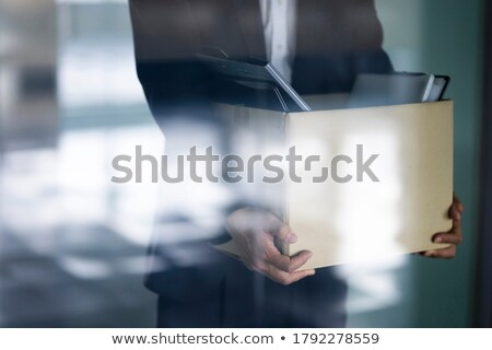 Fired businessman Stock photo © leeser