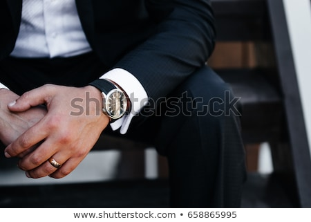 Men's Watch Stock photo © njaj