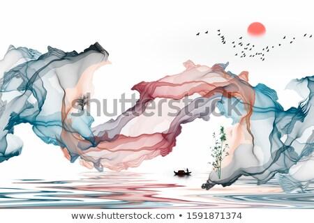 landscape zen stock photo © mariephoto