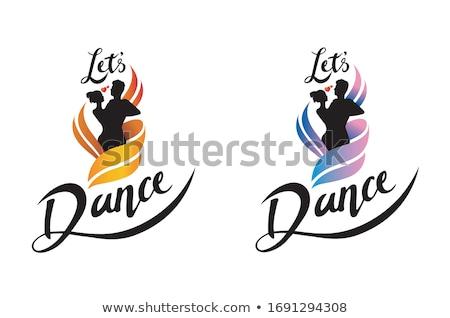 Tango detay çiftler ayakkabı dans görmek Stok fotoğraf © blanaru