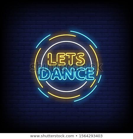 dançar · homem · mulher · dança · tango · ver - foto stock © blanaru