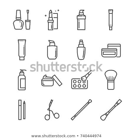 make-up · saúde · beleza · ícones - foto stock © stoyanh