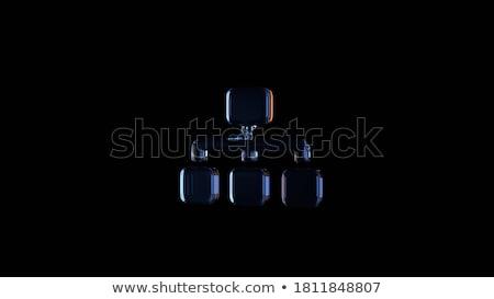 abstract · home · pulsante · luce · tecnologia · web - foto d'archivio © pathakdesigner