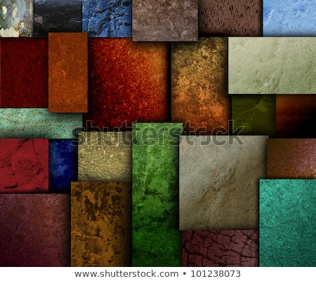 Earth Tone Texture Square Patterns Stock photo © HaywireMedia
