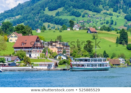 Sailing In Lake Lucerne Stock photo © franky242