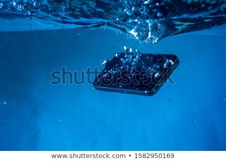 LCD subacuático cielo oficina agua paisaje Foto stock © ozaiachin