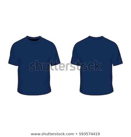 female with blank red and blue shirts stock photo © sumners