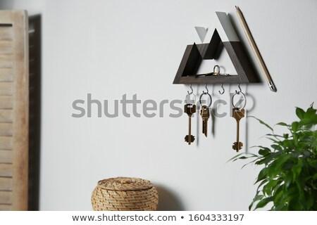 Key holder Stock photo © ruzanna