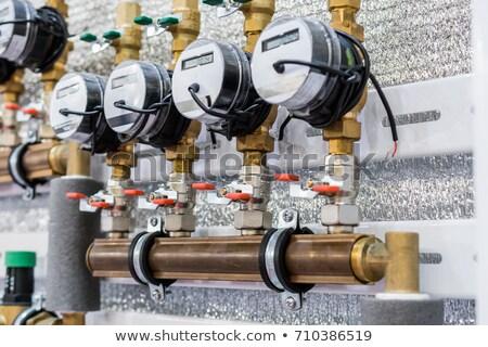 macro shot of a water meter Stock photo © RuslanOmega
