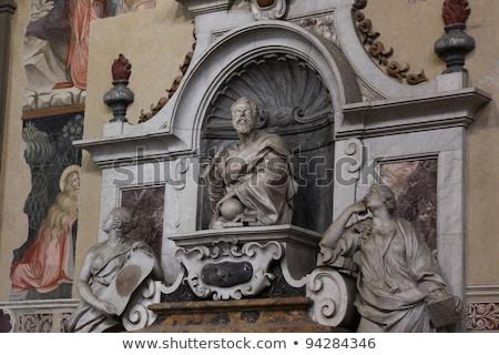 Galileo Galilei Tomb Basilica Santa Croce Florence Italy Stock photo © billperry