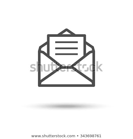 ベクトル · アイコン · 手紙 · 封筒 - ストックフォト © zzve