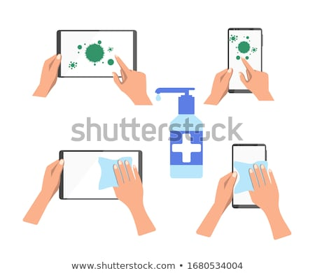 cellulaire · illustratie · telefoon · mobiele · icon - stockfoto © qiun