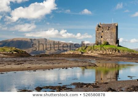 старые · замок · Италия · средневековых · небе - Сток-фото © antonio-s