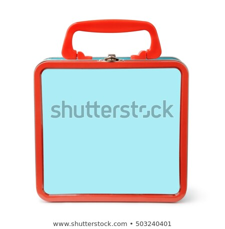 Vintage Lunch boxes Stock photo © soupstock