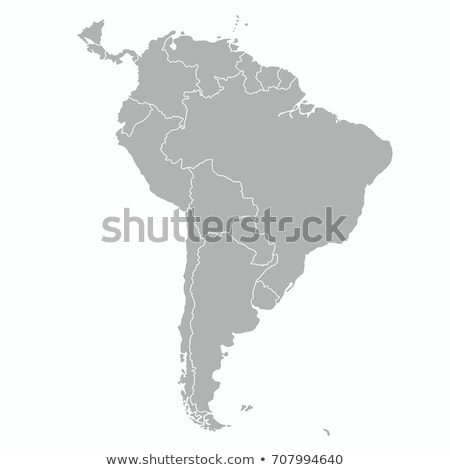 South America map with Argentina Stock photo © Ustofre9