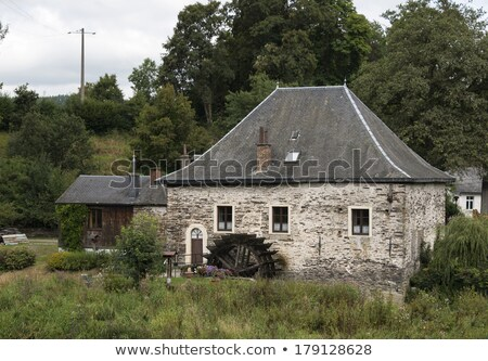 water mill in the belgium city mortehan   Stock photo © compuinfoto