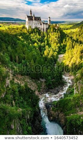 Canón cascada panorama parque panorámica vista Foto stock © weltreisendertj