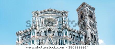 Keresztség Florence kép híres kereszt angyal Stock fotó © magann