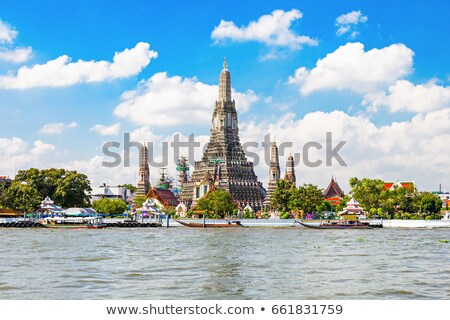 Temple of dawn bangkok Stock photo © vichie81