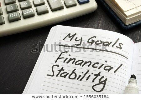 Financeiro estabilidade forte crescente economia metáfora Foto stock © Lightsource
