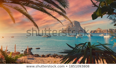 picturesque tropical island in sunny day stock photo © moses