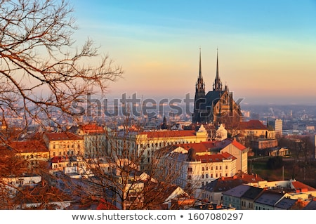 brno panorama stock photo © joyr