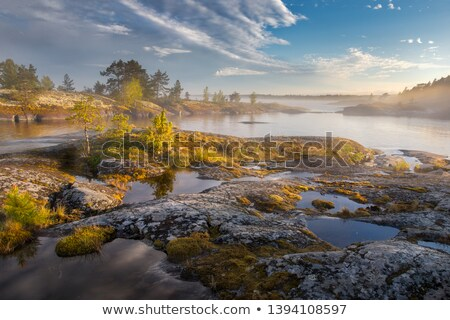 Autumn on archipelago. Stock photo © Reaktori