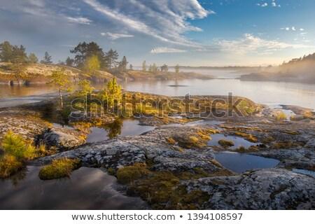 ősz · szigetvilág · gyönyörű · nap · víz - stock fotó © Reaktori