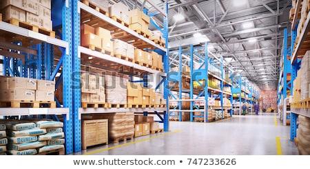 Intérieur entrepôt vide modernes Photo stock © russwitherington