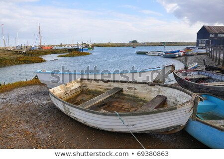 Rowing boat in shelter Stock photo © Mps197