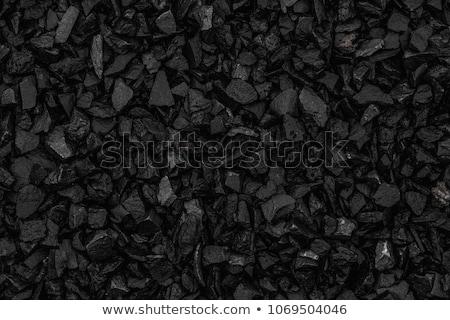 Preto carvão mineração textura fumar Foto stock © dariazu