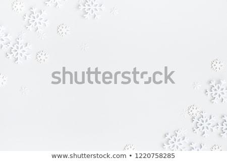 christmas · winter · zwarte · kerstmis - stockfoto © limbi007
