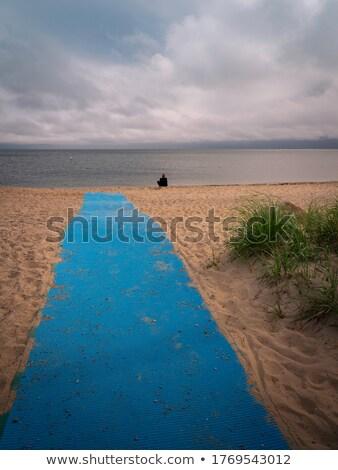 playa · Maine · madrugada - foto stock © befehr