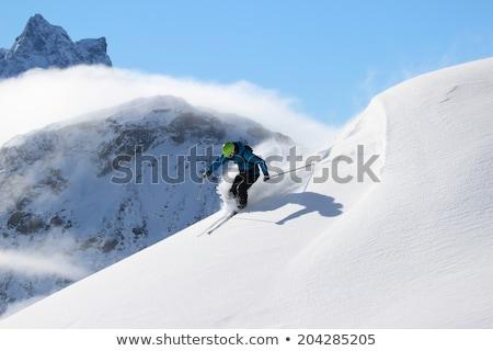 montagne · gamme · alpes · été · herbe · domaine - photo stock © phbcz
