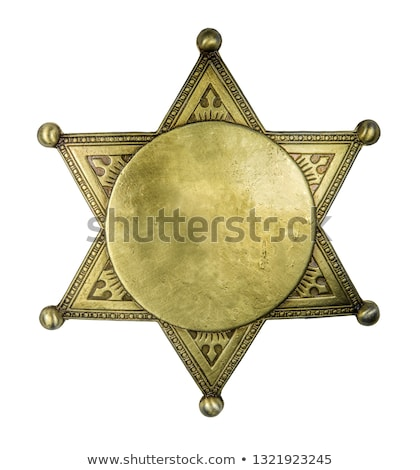 Stock photo: sheriff insignia