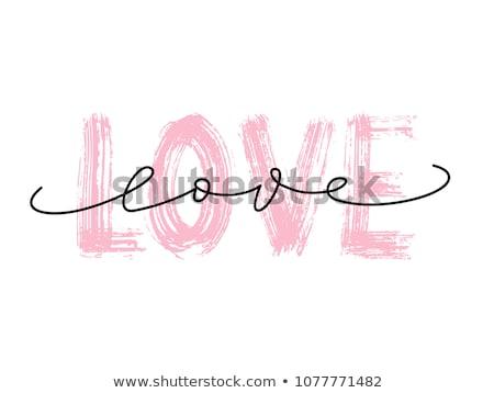 Stock fotó: Szeretet · szó · egér · billentyűzet · gyerekek · internet