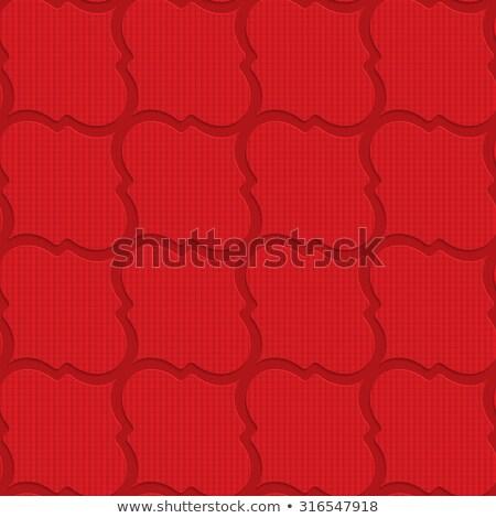 赤 対角線 幾何学的な 3D レイヤード ストックフォト © Zebra-Finch