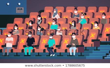 Stok fotoğraf: Cinema Interior