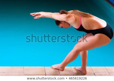 sport · lány · kezdet · test · fitnessz · sportok - stock fotó © Paha_L