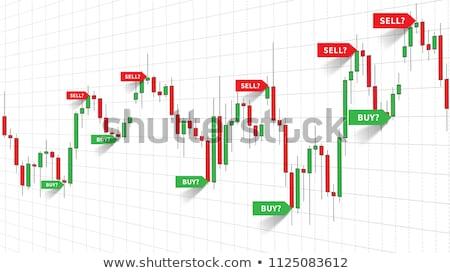 Stock fotó: Trading Forex Charts