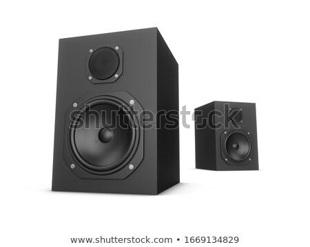 Amplifier Speaker Stock photo © kitch