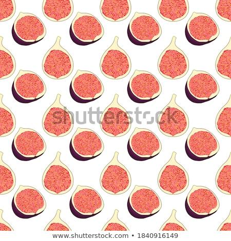 Tropische vruchten vier groot rijp rij exemplaar ruimte Stockfoto © ozgur