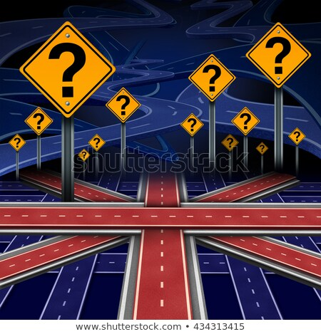 british european question stock photo © lightsource